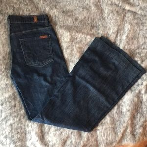 7 for all mankind- ginger sz 27 Flare